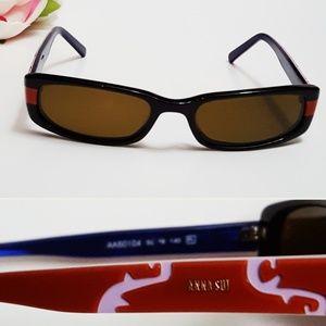 Anna Sui thin, small sunglasses -D1